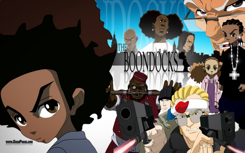 Free Download Boondocks Wallpaper 800x500 For Your Desktop