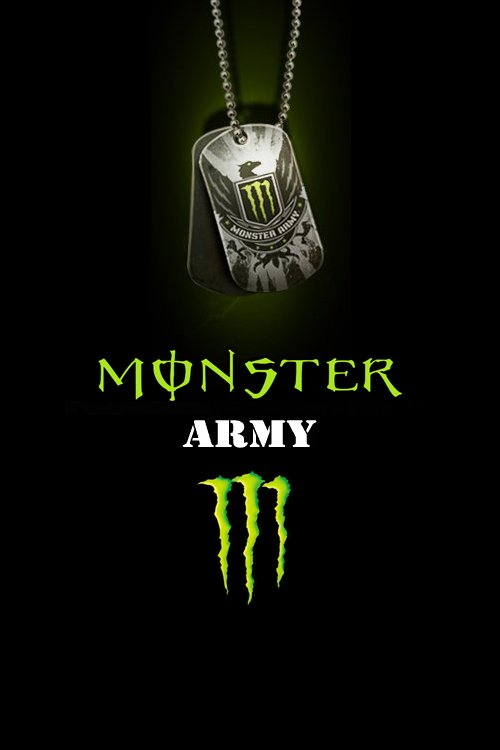 Fox Racing Monster Energy Logo Wallpaper Images Pictures   Becuo 500x750