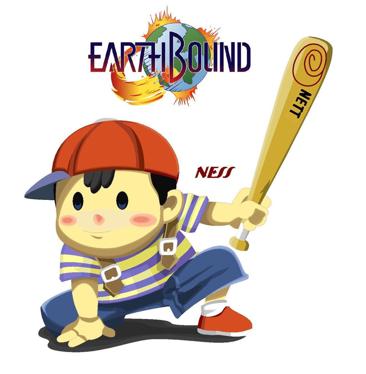 Ness EarthBound by Blazin Fox McCloud 1280x1306