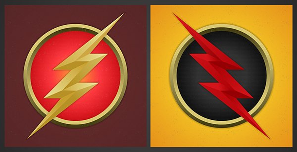Reverse Flash Logo The Flash And Reverse Flash 600x307