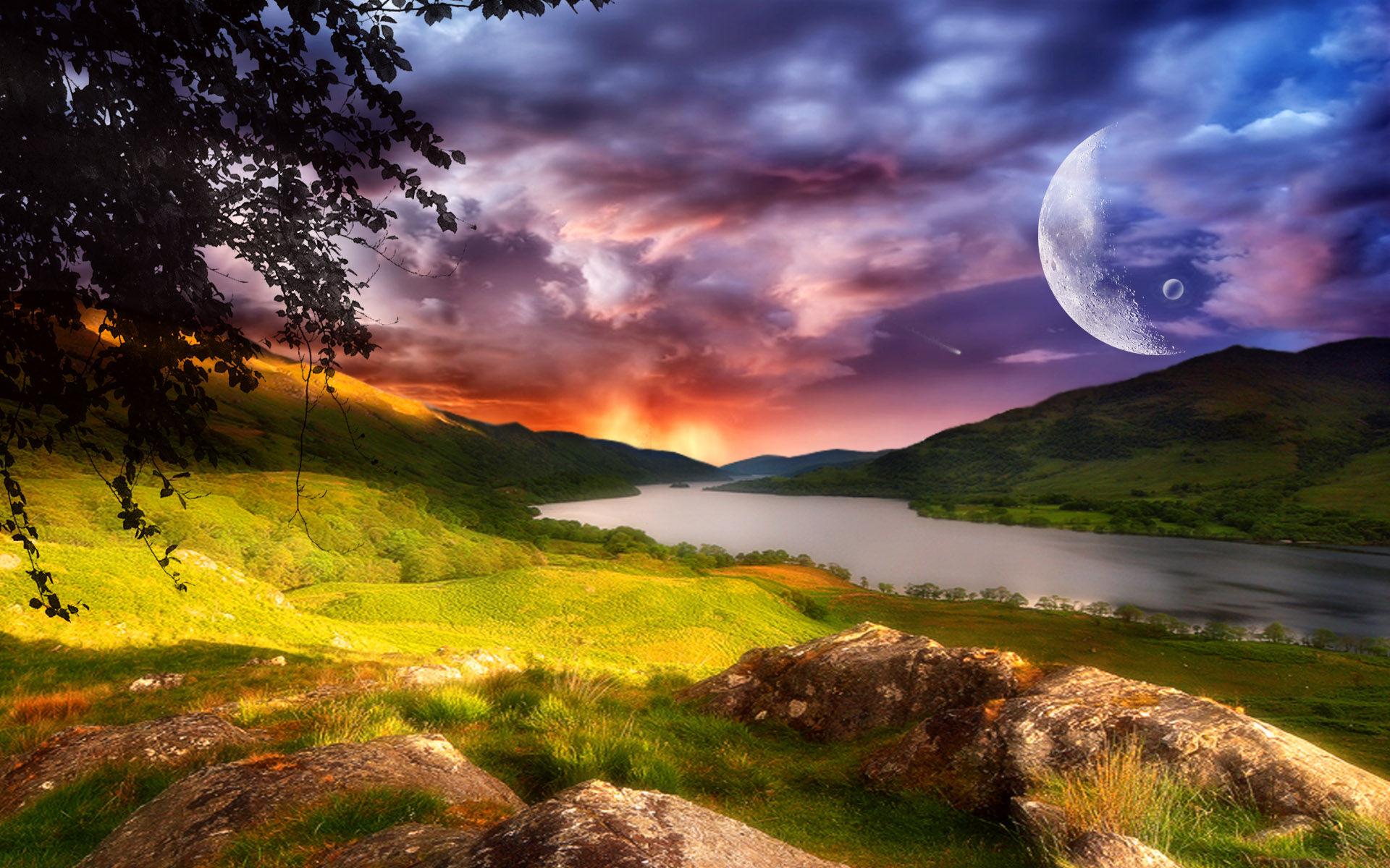 Landscape Background Wallpaper - WallpaperSafari