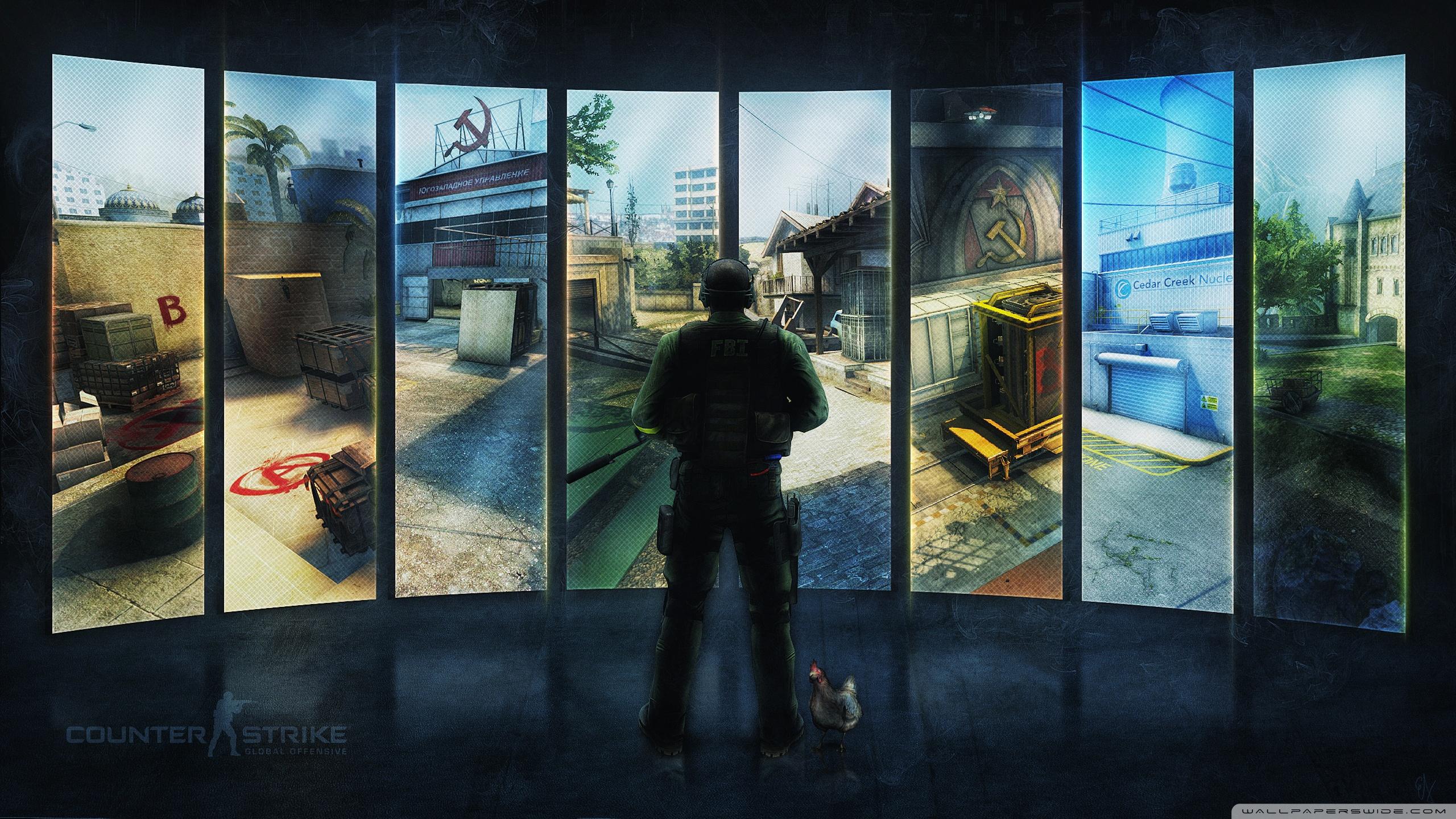 Counter Strike Global Offensive 4K HD Desktop Wallpaper for 4K 2560x1440