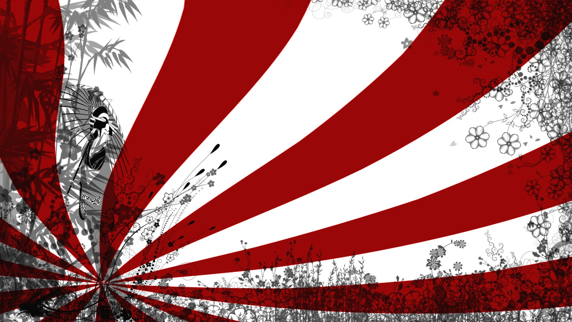 Japanese Flag Wallpaper Download 1920x1080