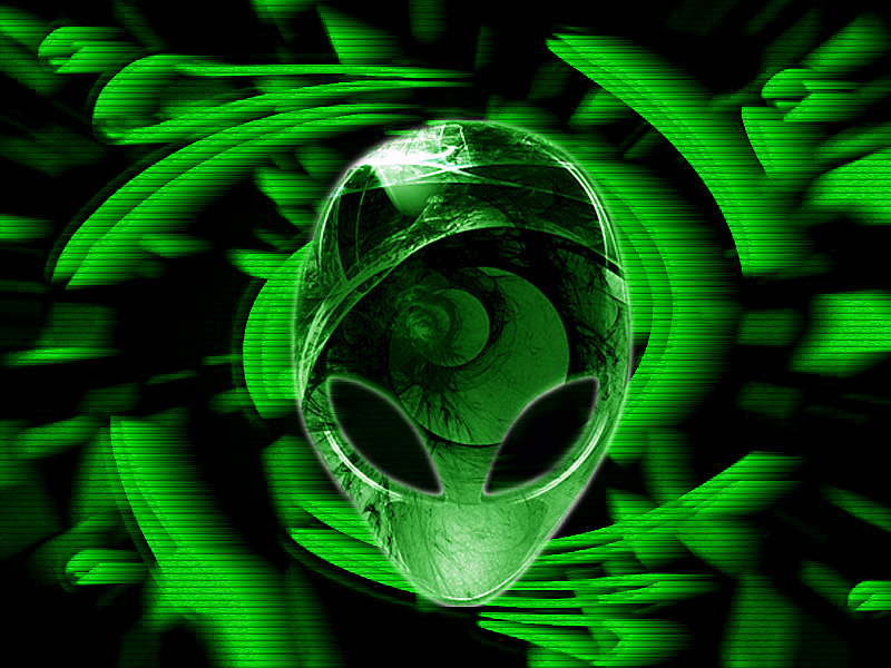 Alienware green technology art gallery Enjoy 800x600
