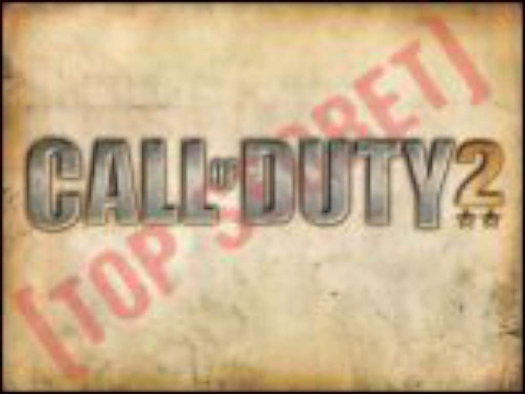 CoD2 Wallpaper   Top Secret   Call of Duty 2 Mods Maps Patches 1024x768