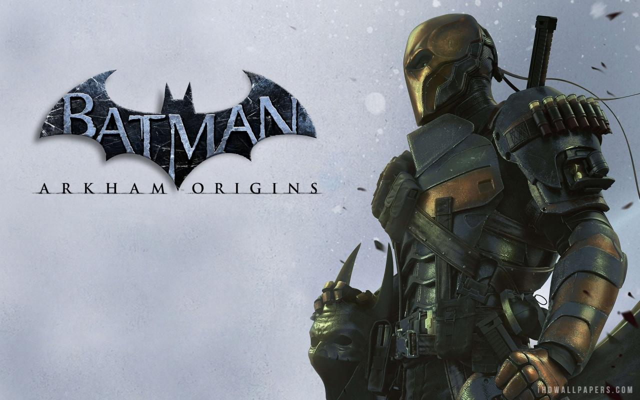 Deathstroke in Batman Arkham Origins HD Wallpaper   iHD Wallpapers 1280x800