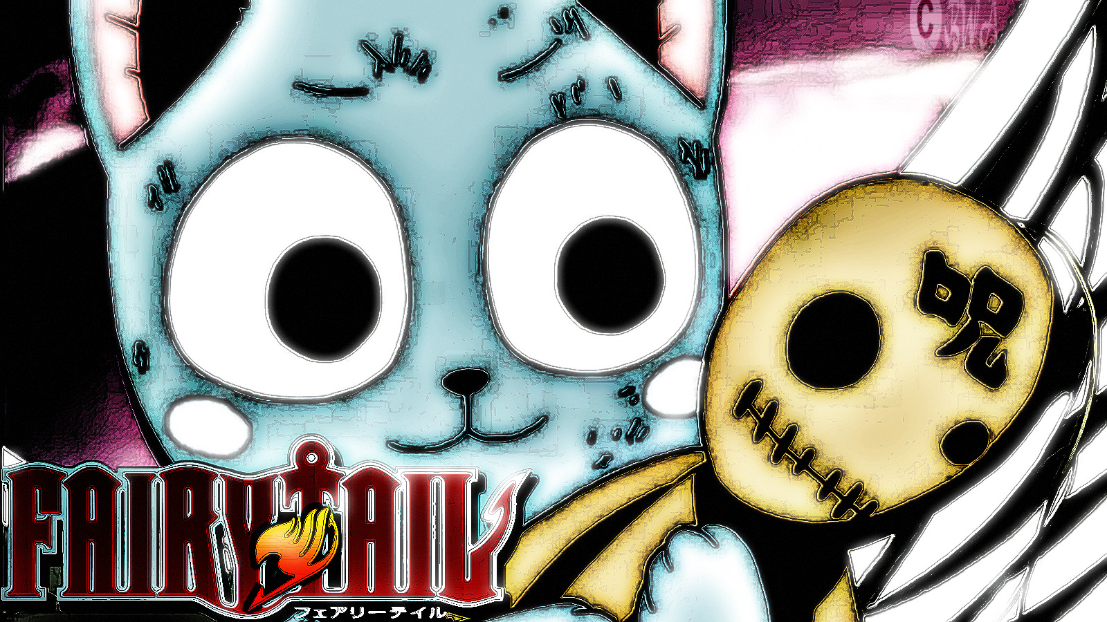 Fairy Tail Happy Phone Wallpaper Happy fairy tail wallpapers 1600x900