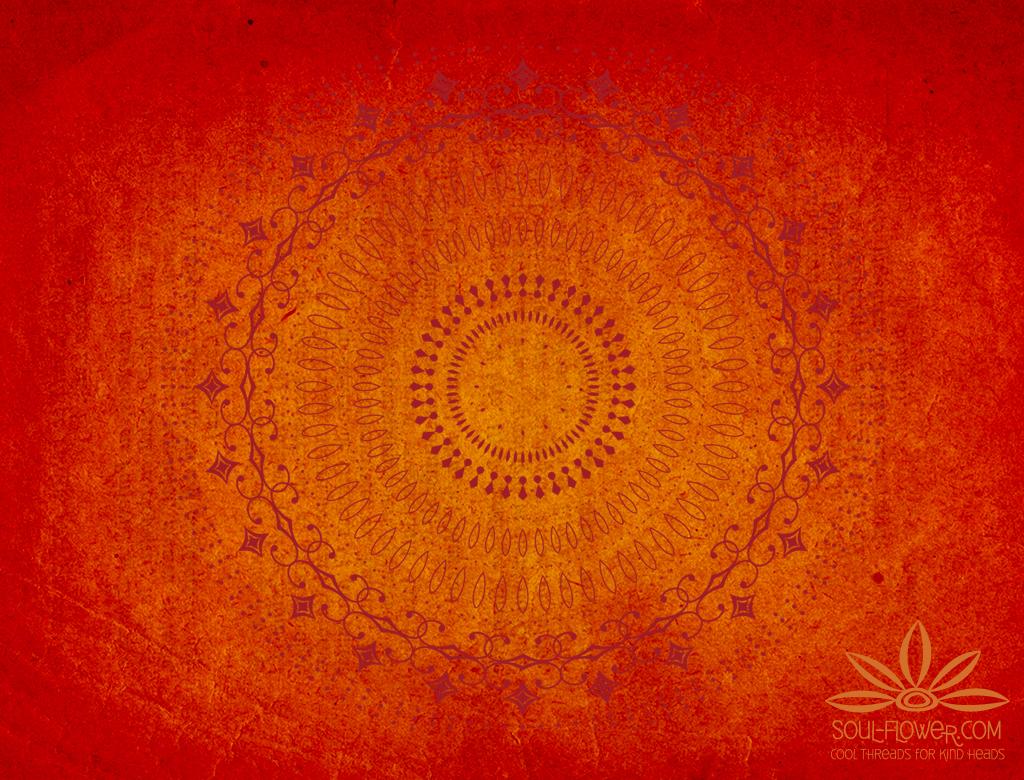 Mandala Background Wallpaper red mandala 1024x780