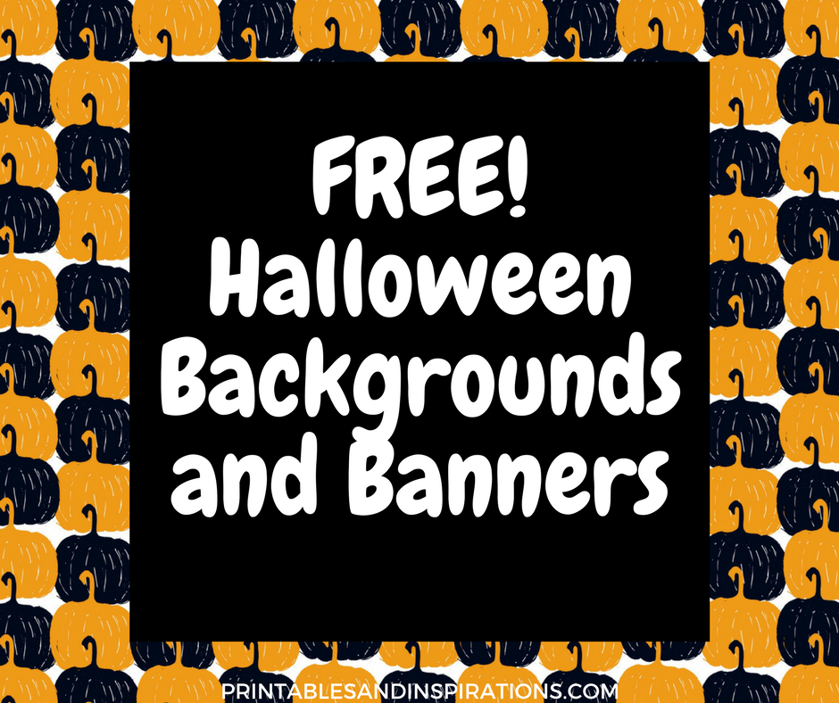 Halloween Background And Banners   Printables and Inspirations 940x788