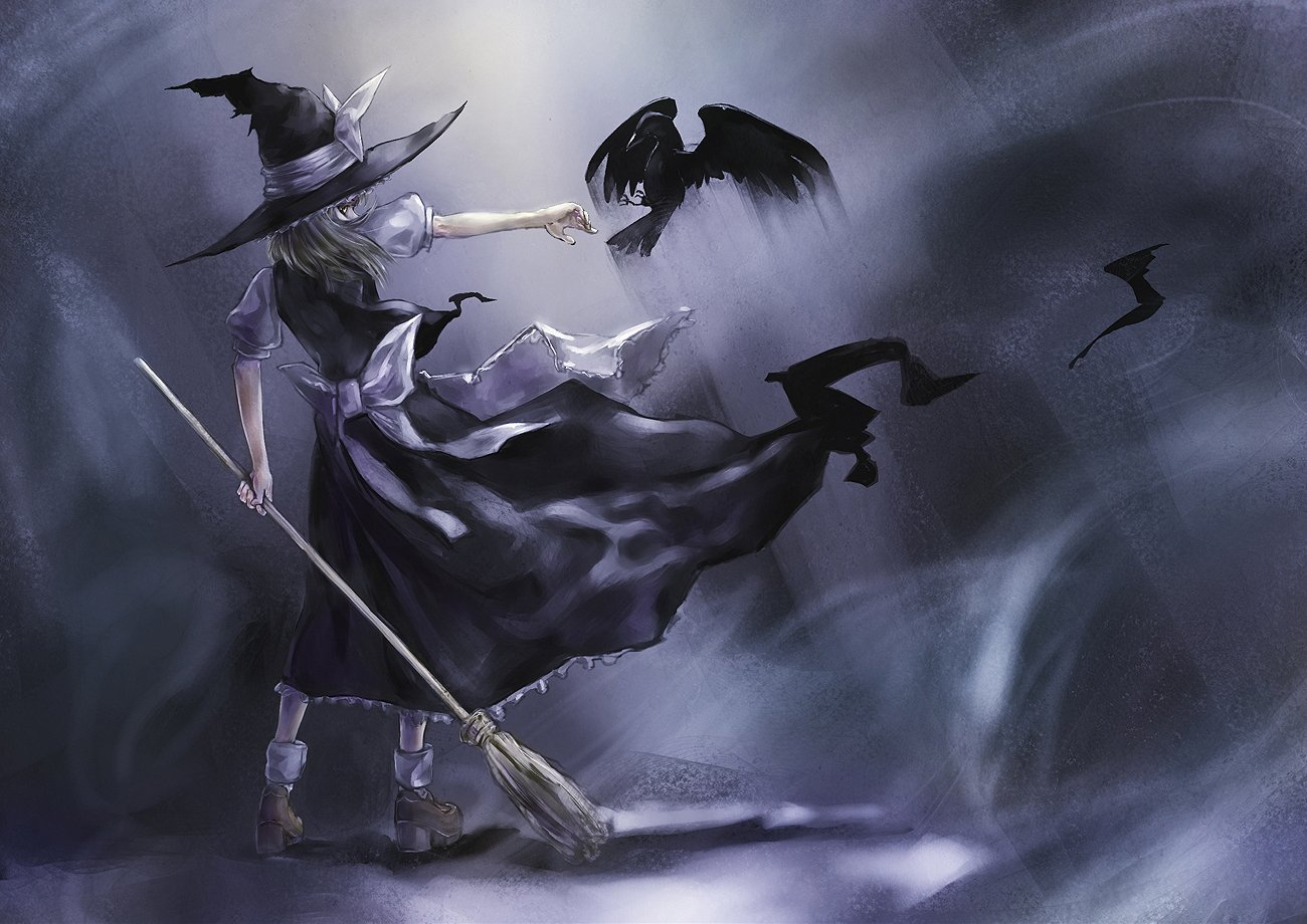 Witch Computer Wallpapers Desktop Backgrounds 1300x920 1300x920