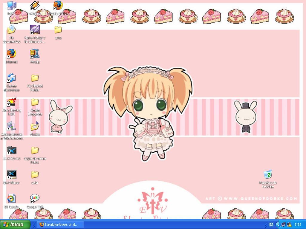 Loli wallpaper by harajuku lovers 1024x768