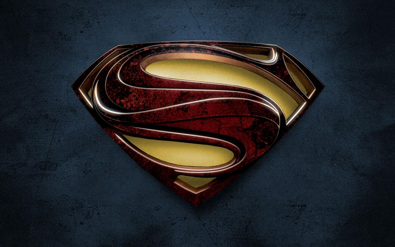 Hd Wallpaper Superman Man Of Steel Superman Logo Man Of Steel Hd 1440x900