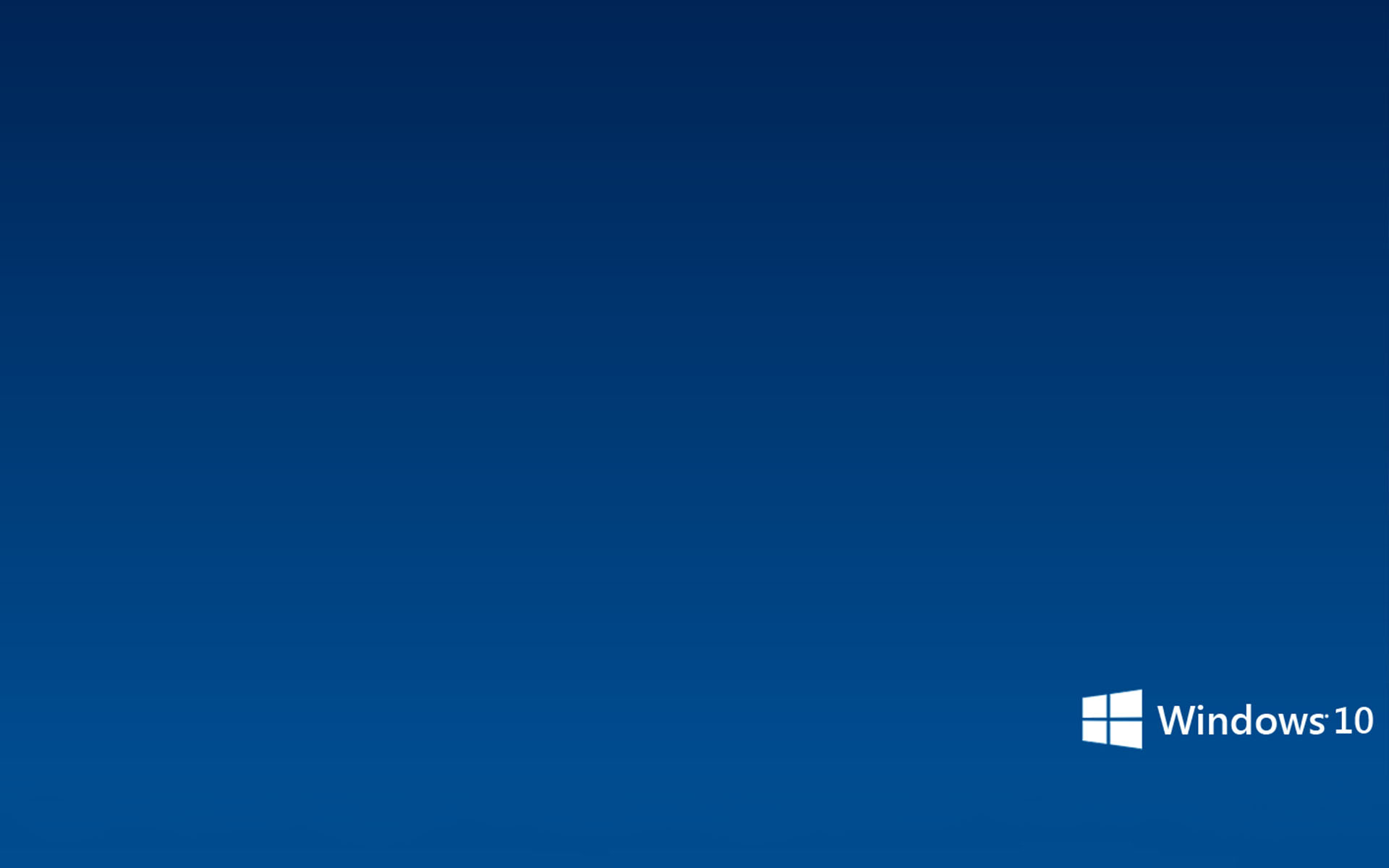 Simple Microsoft Windows 10 Wallpaper   Wallpapers 1920x1200