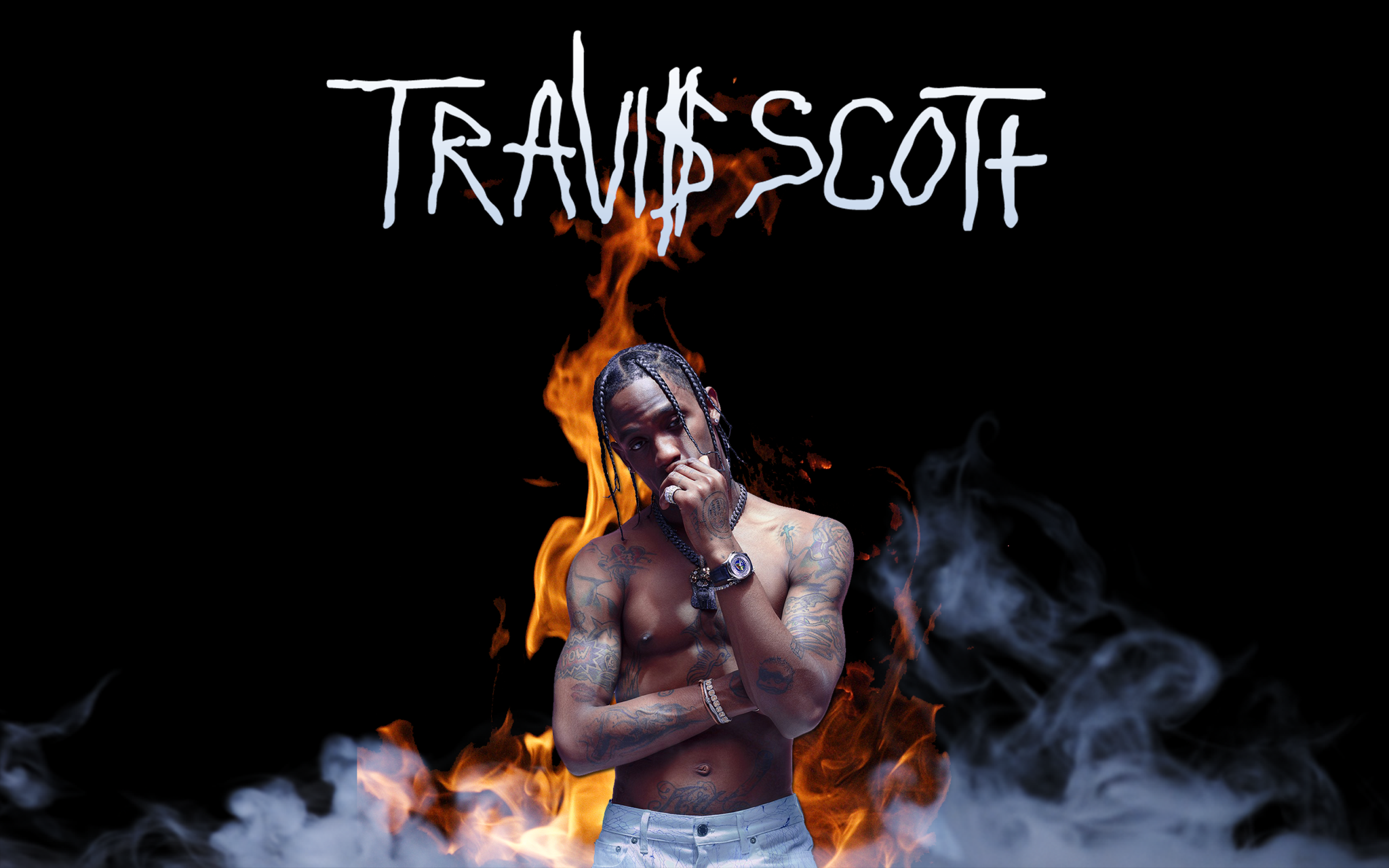 Travis Scott minimalistic wallpaper travisscott 2048x1280