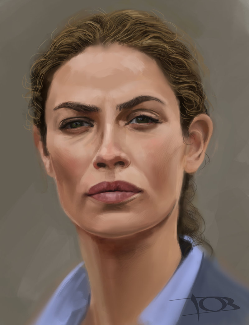 Joanne Kelly sketch 2 by tonyob 800x1046
