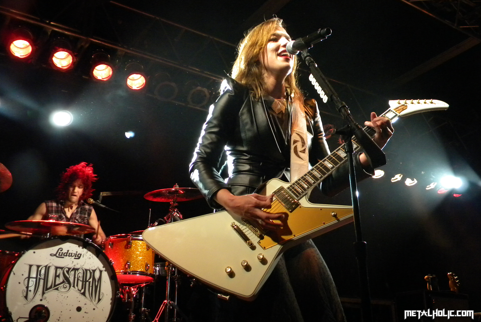 HALESTORM Hard rock alternative rock alternative metal 1824x1224
