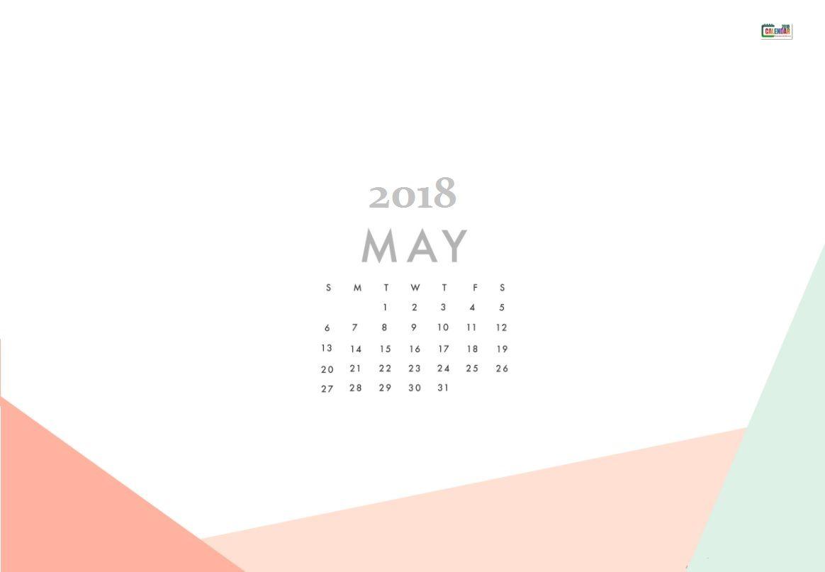 May 2018 Calendar Wallpaper For Background Calendar 2018 1164x807