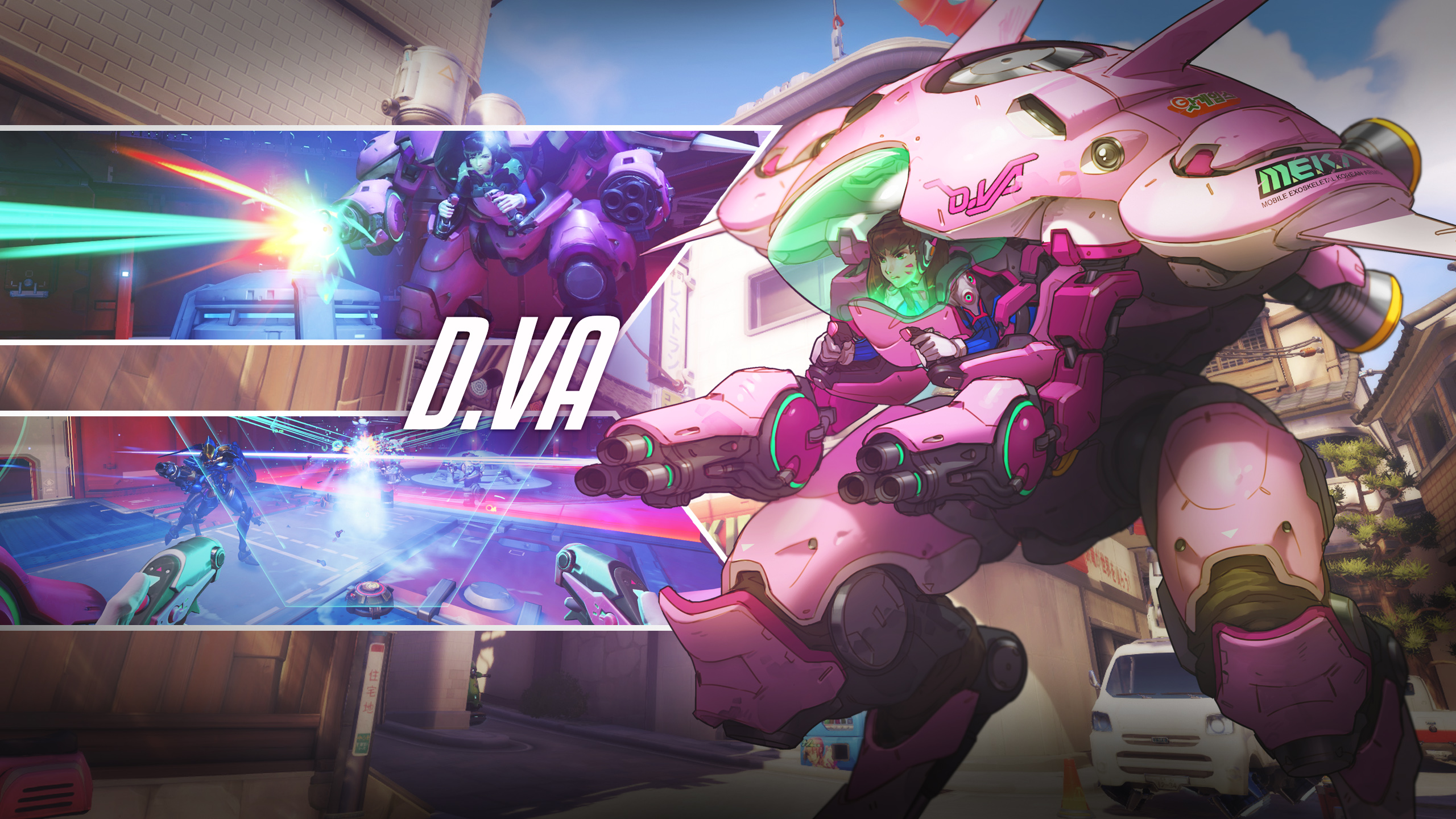 Overwatch D Va Wallpapers HD Wallpapers 2560x1440
