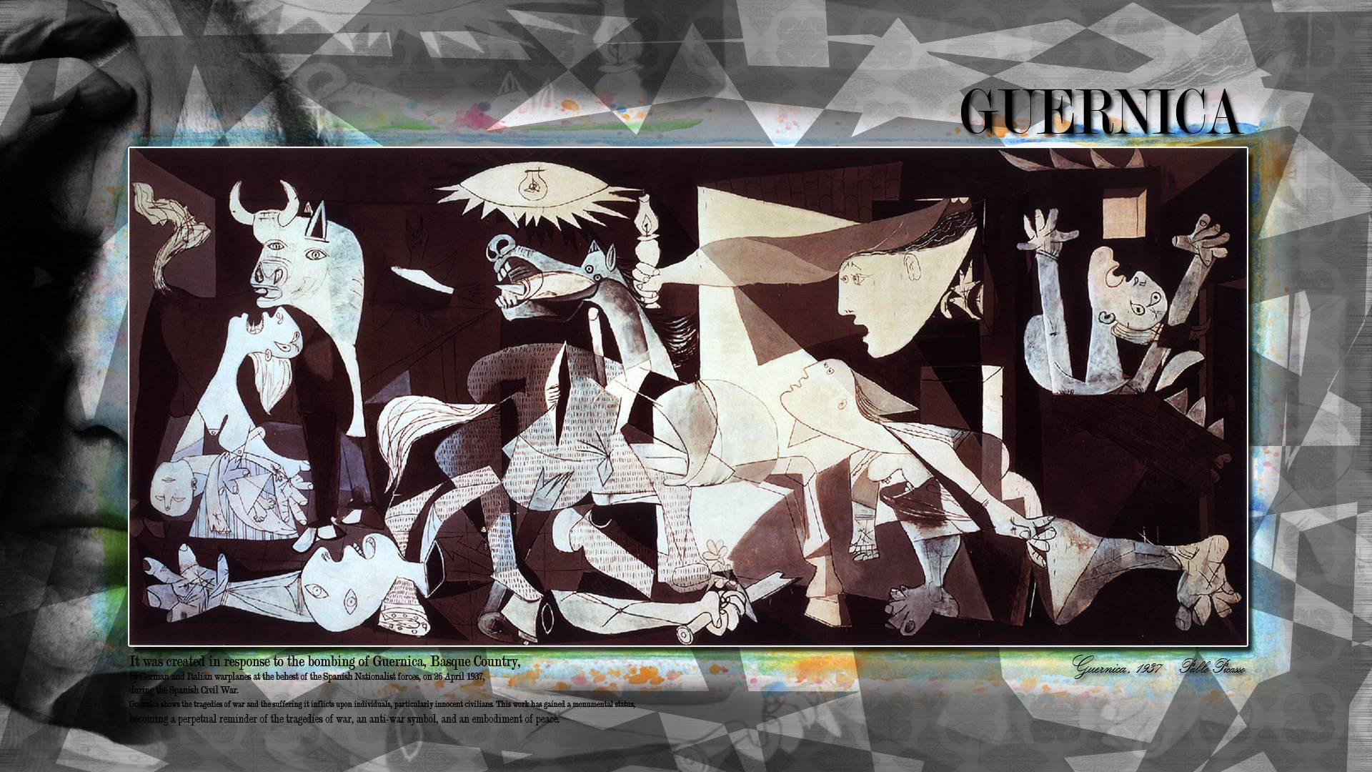 Images For Guernica Wallpaper 1920x1080