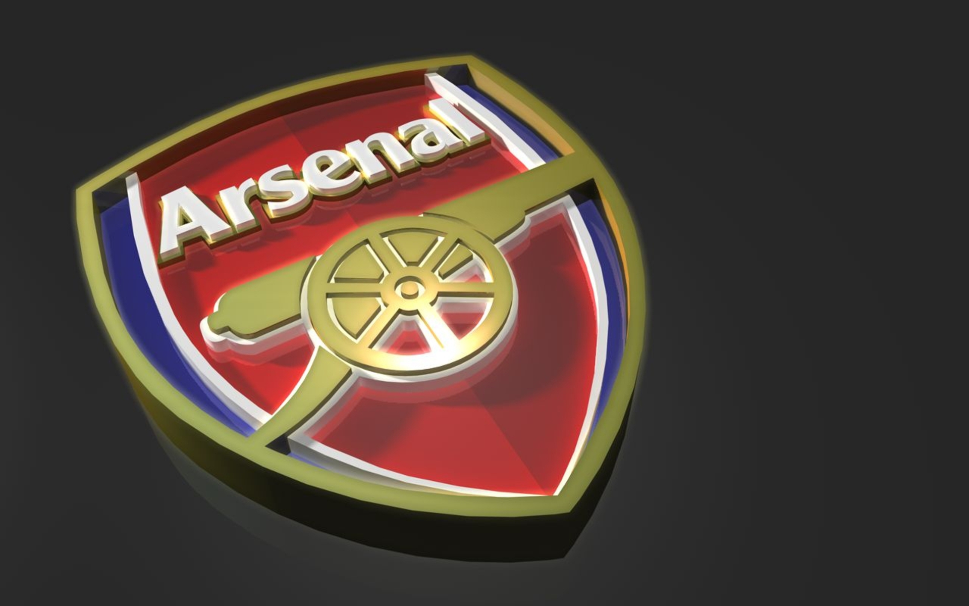 Arsenal Logo 3D Exclusive HD Wallpapers 1065 1920x1200
