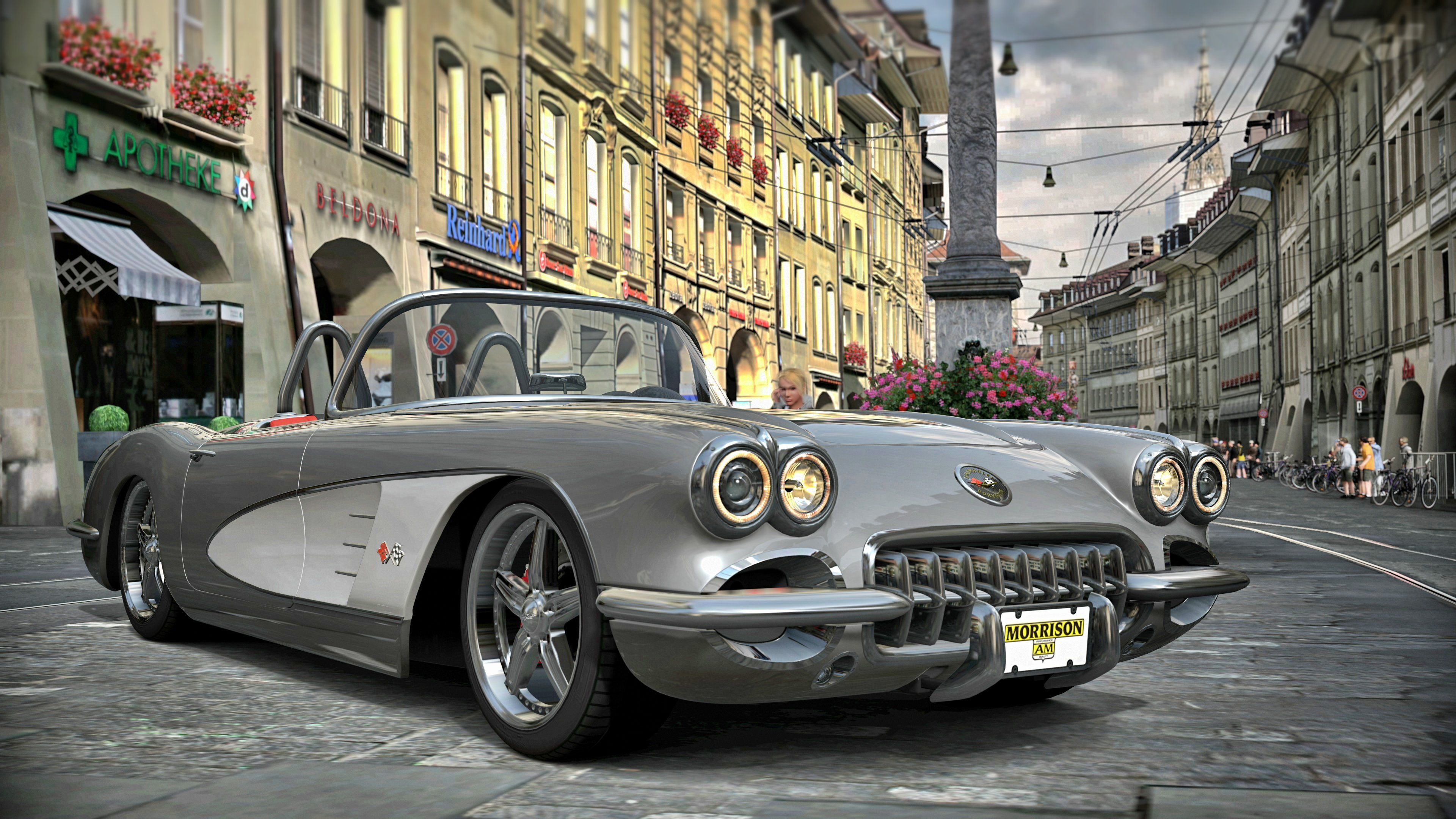 Vintage Corvette Wallpapers   Top Vintage Corvette 3840x2160