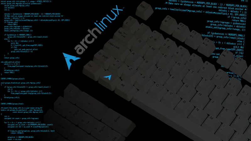 linux keyboards arch linux 1920x1080 wallpaper Technology Linux HD 800x450