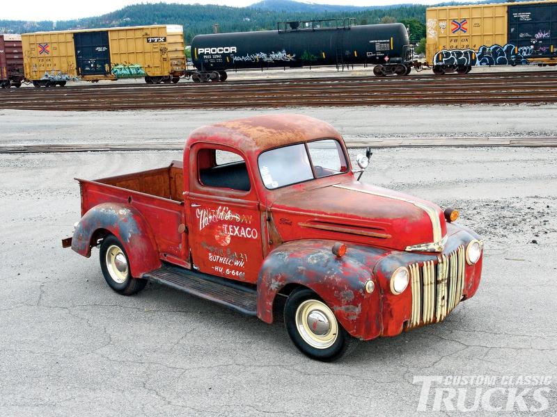 Classic Ford Texaco Service Truck Cars Ford HD Desktop Wallpaper 800x600