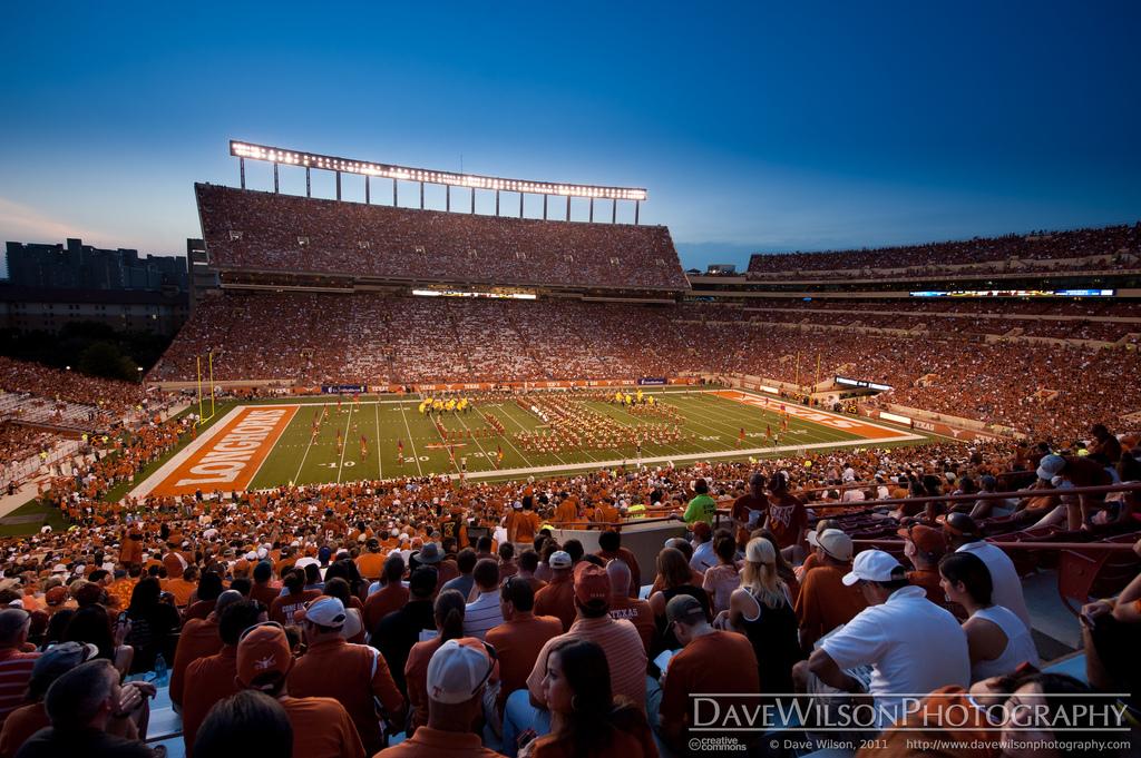 Darrel K Royal Stadium University of Texas Flickr   Photo Sharing 1024x681