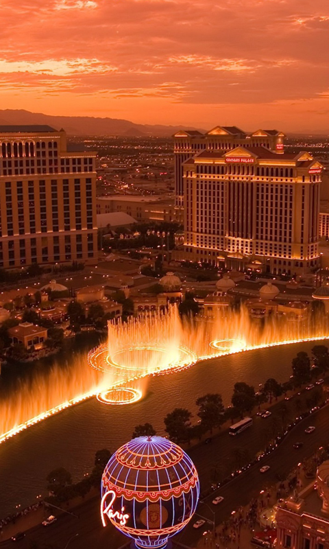 Las Vegas HD Live Wallpapers Live wallpapers HD for Android 480x800