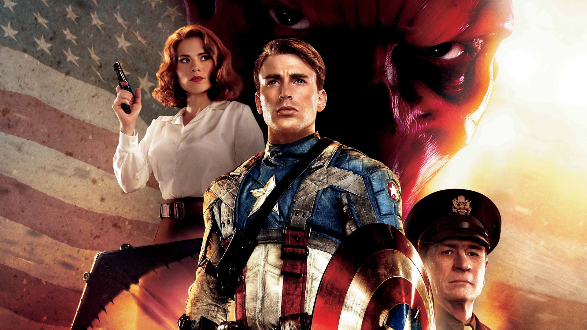 Free Download Captain America The First Avenger Hd Wallpaper