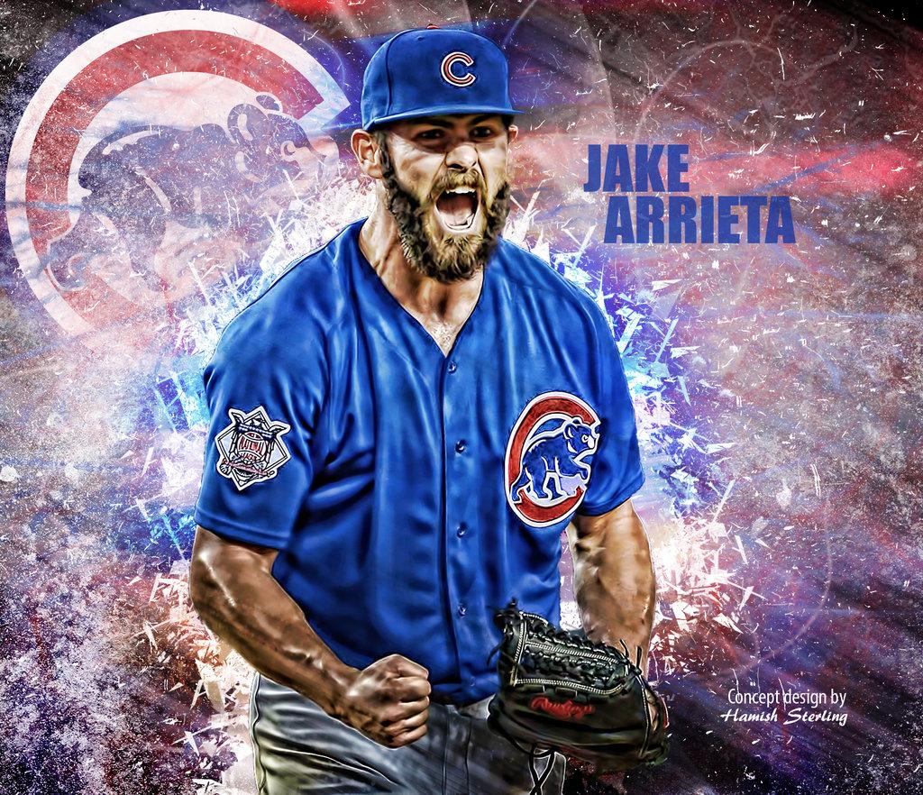 Chicago Cubs   Jake Arrieta wallpaper by HPS74 1024x882
