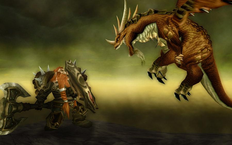 WoW dwarf warrior by LordThanathos 900x563