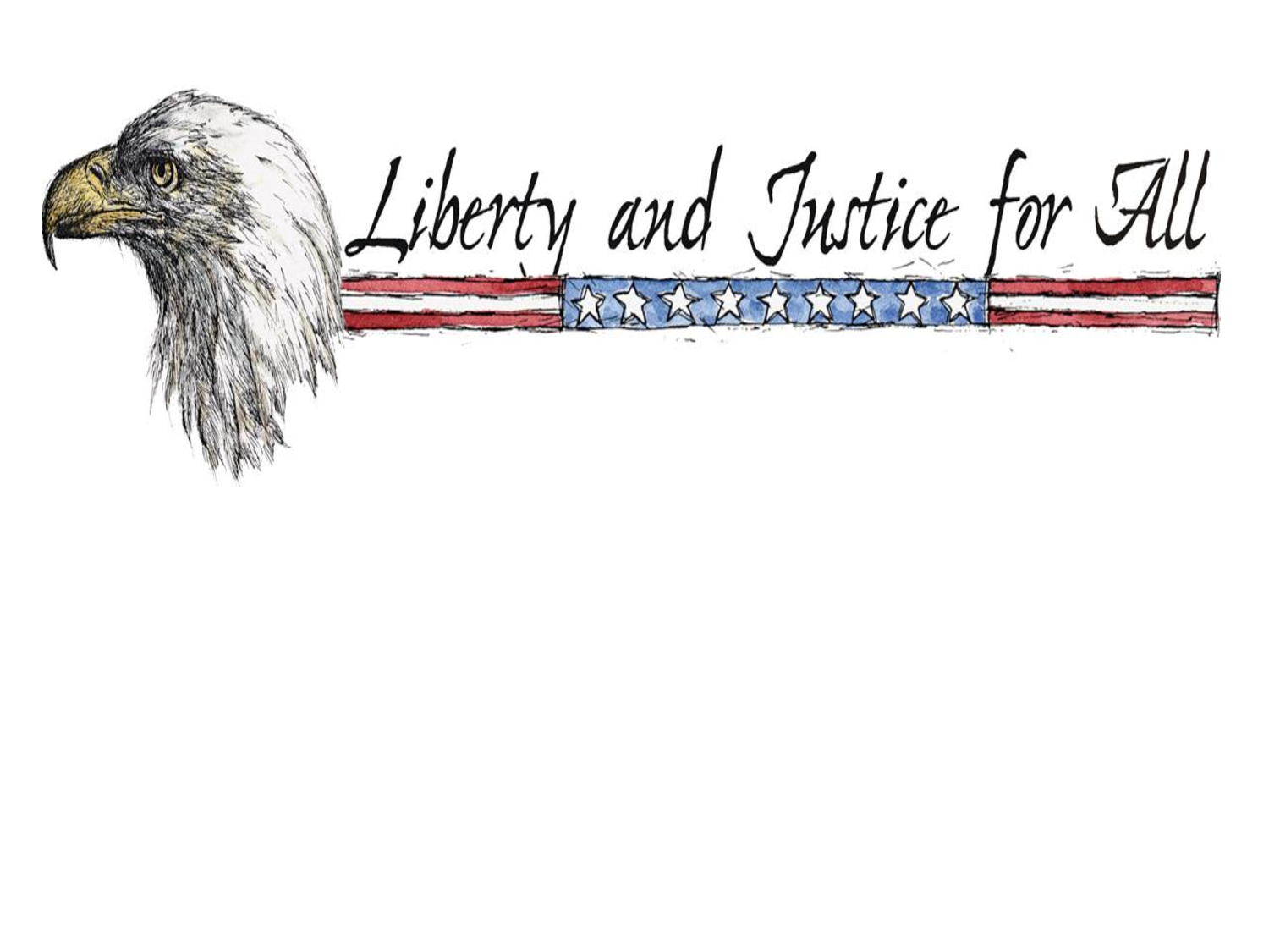 Liberty and Justice for All PPT Powerpoint Background by 1500x1125