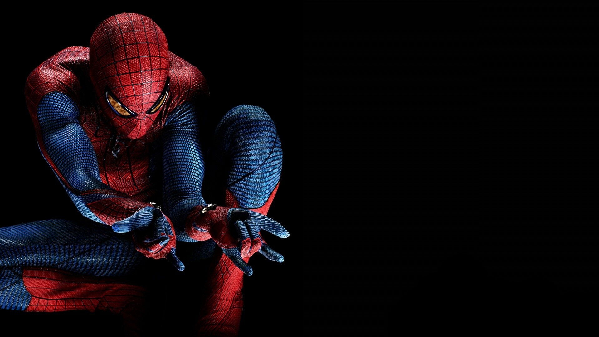 Spider man Marvel Wallpaper 1920x1080 Spiderman Marvel Black 1920x1080