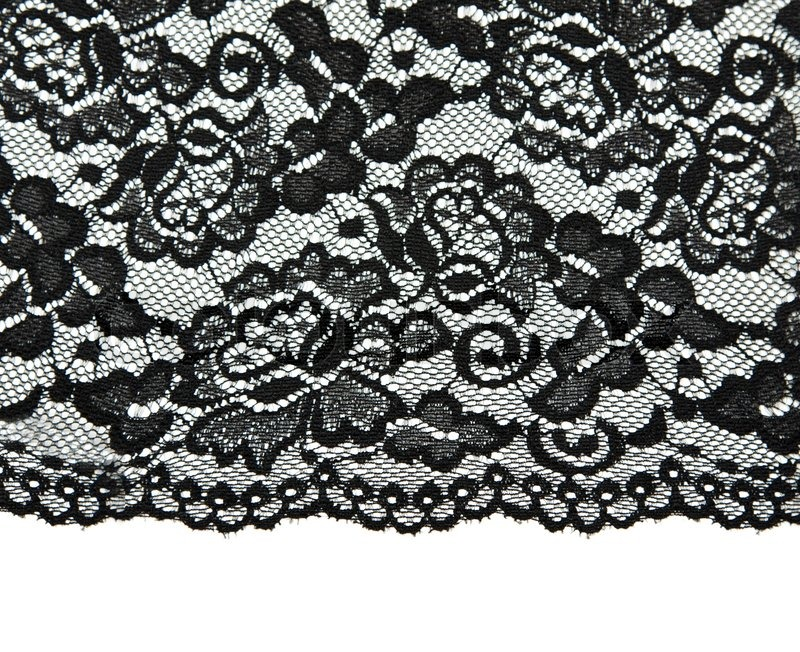Knitted Drops Shawl With Lace Pattern In 5