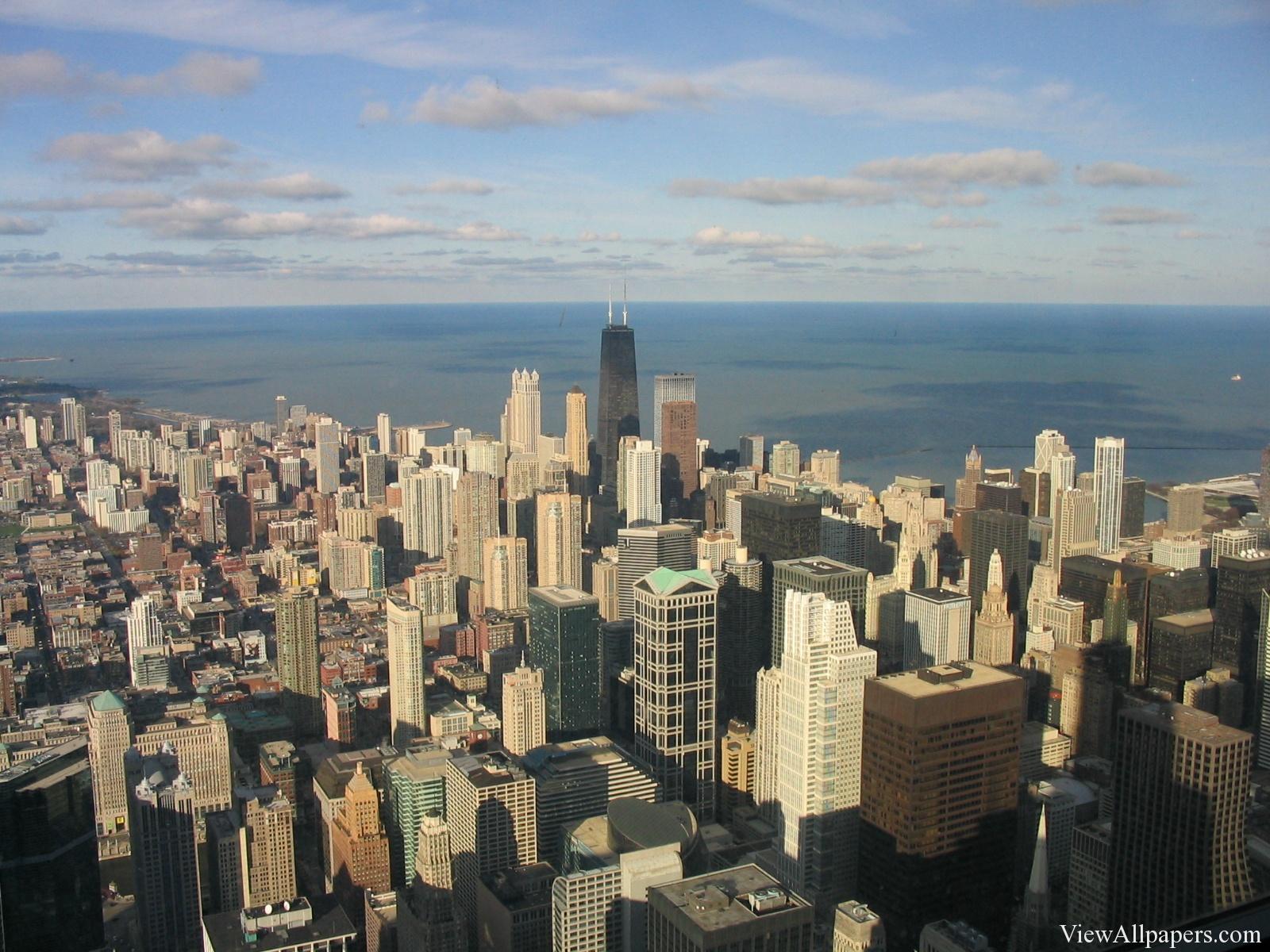 Chicago Skyline High Resolution Wallpaper Download 1600x1200