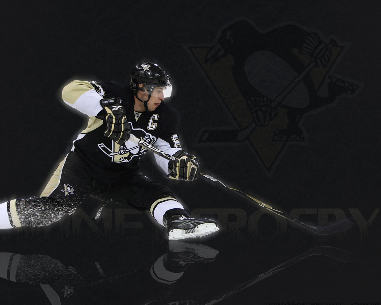Sidney Crosby Stanley Cup Wallpaper 1280x1024