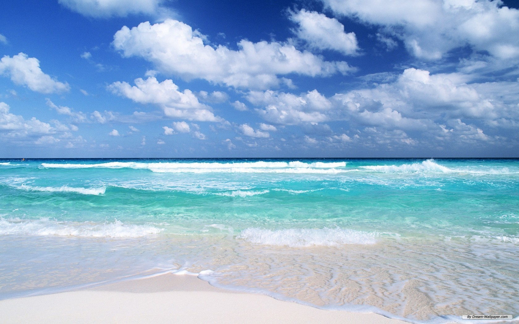 Nature wallpaper   Clear Water And Blue Sky 1 wallpaper 1680x1050