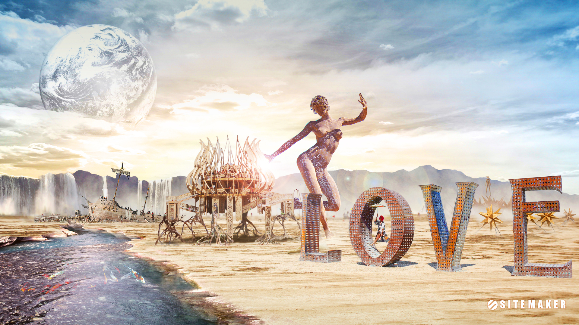 Burning Man Wallpaper Wallpapersafari
