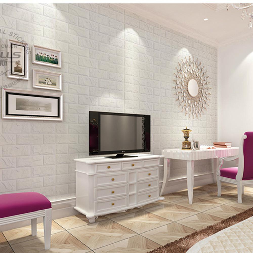 Wallpaperhdfree Blogspot Com White Brick Wallpaper Living Room Ideas