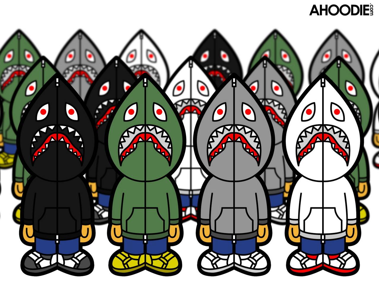 Bape shark hoodie Wallpaper desktop background logo qualityjpg 1280x960