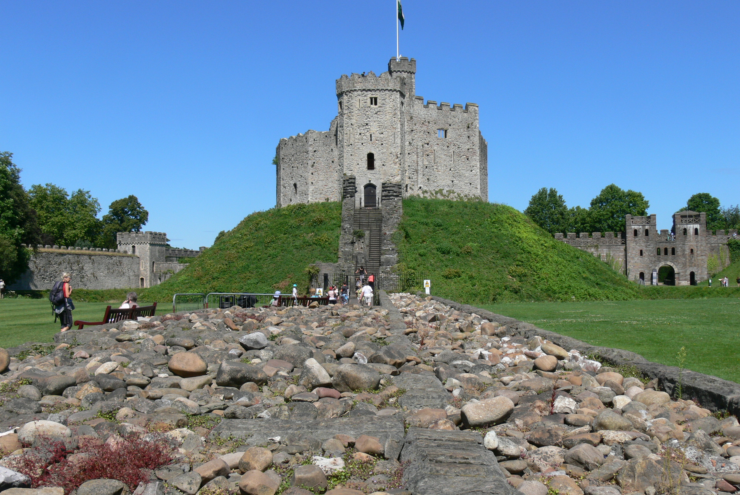 Cardiff Gothic Castle Wallpaper Travel HD Wallpapers 2560x1712
