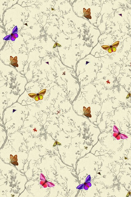 Timorous Beasties Butterflies Wallpaper Ideas Designs   Living Room 426x639