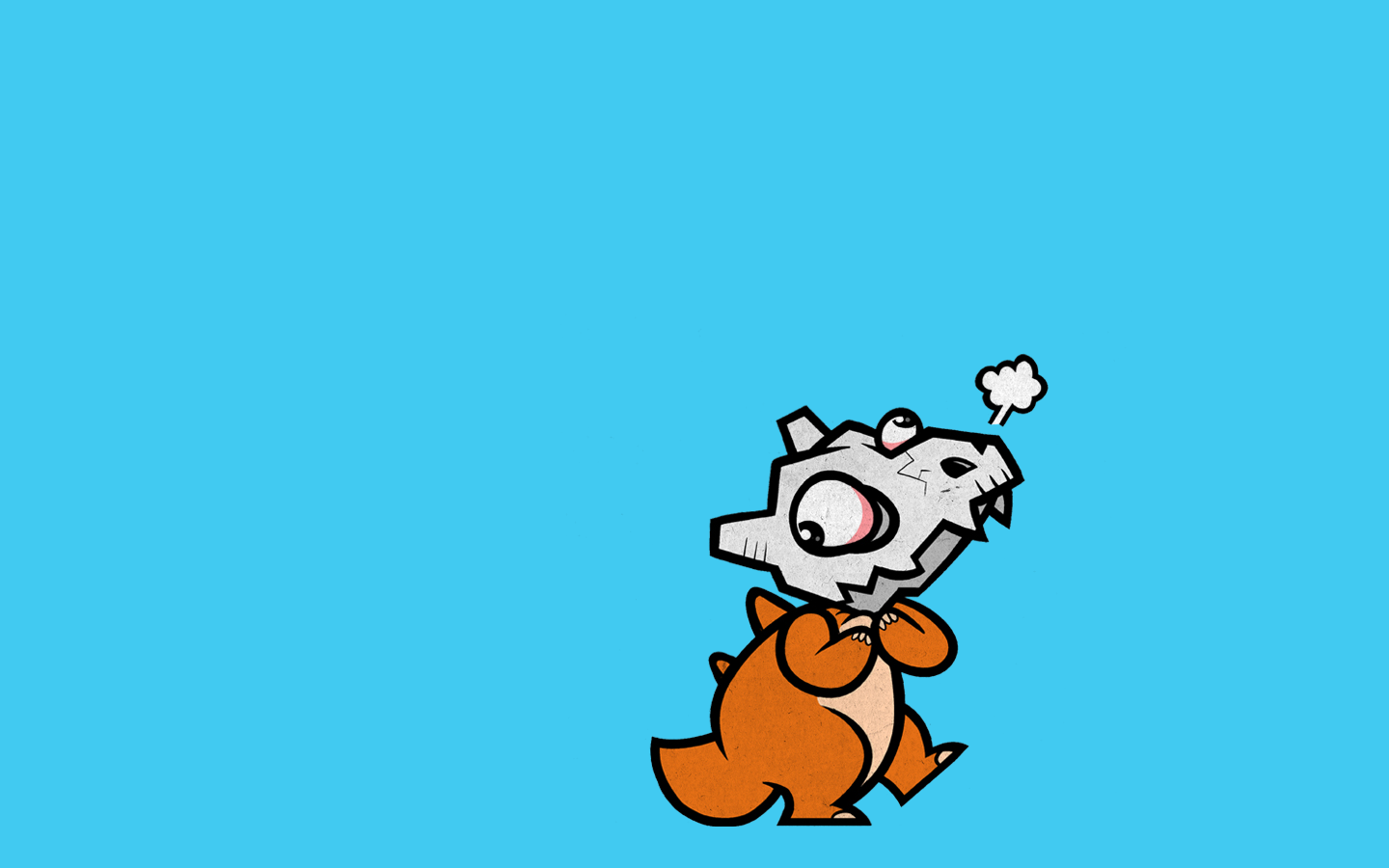 Pokemon Cubone Wallpaper 1440x900 Pokemon Cubone 1440x900