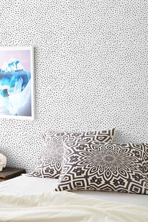 Chasing Paper Speckle Removable Wallpaper   Urban Outfitters 507x761