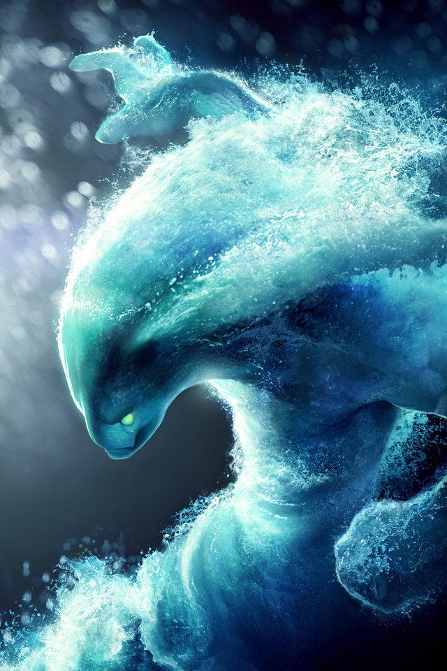 Dota 2 Water iPhone 4s Wallpaper Download iPhone Wallpapers iPad 640x960