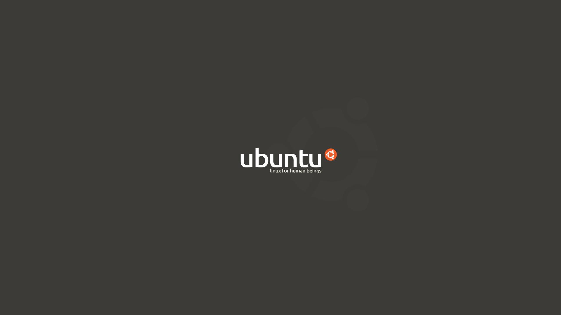 ubuntu mikebeecham wallpaper simple brown linux images 1920x1080