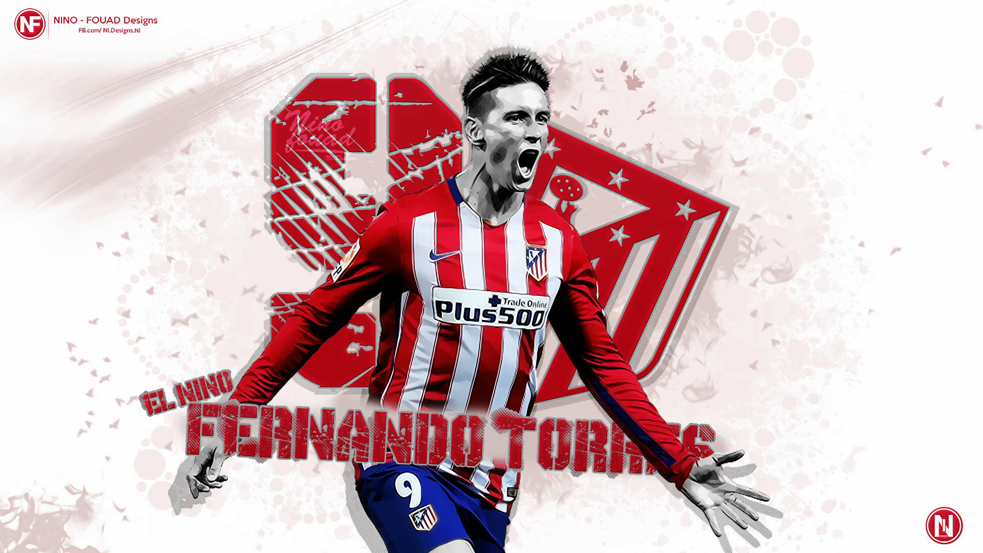Wallpaper   Fernando TORRES by Nino GFX 1920x1080