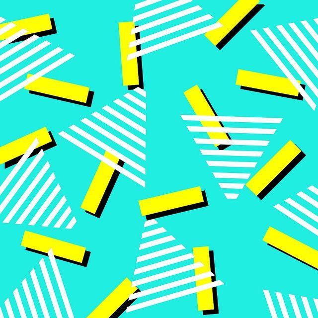 80s Wallpaper Patterns 80s patterns80S Neon Geometric Pattern 80S 640x640