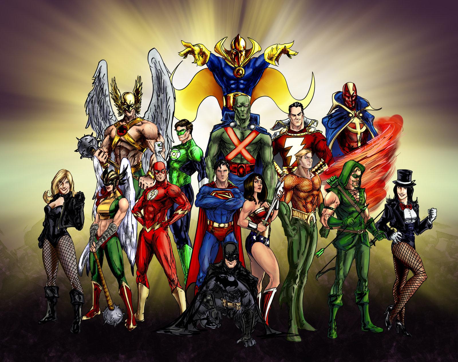 42 justice league hd wallpapers on wallpapersafari - Dc characters wallpaper hd ...